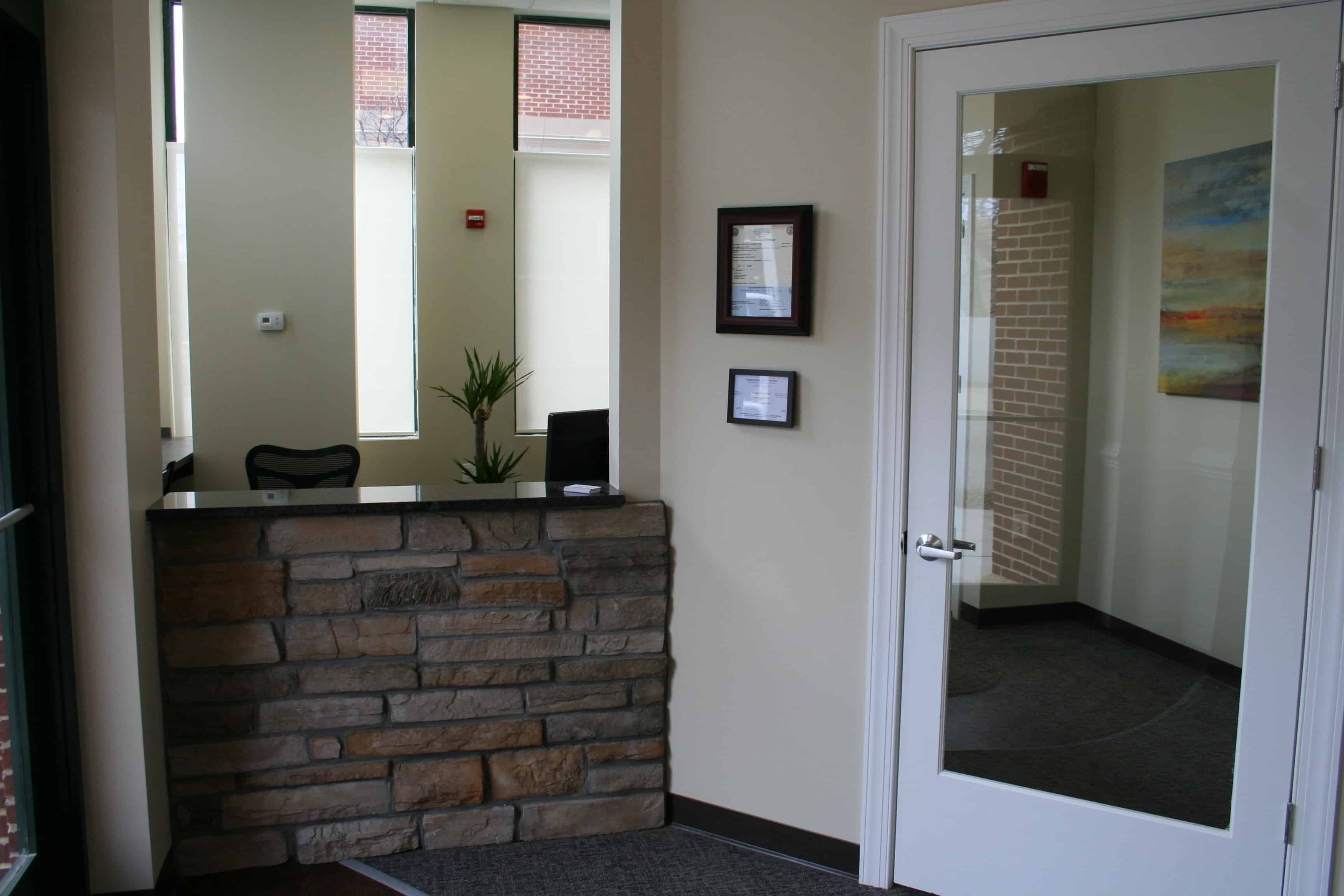 Braddock Dental - Reception Desk